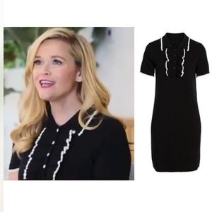 Reese Witherspoon Draper James Polo Sweater Dress